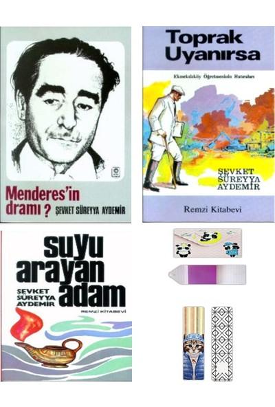 Araştırma – Inceleme Seti + Defter ve Ayraç - Şevket Süreyya Aydemir