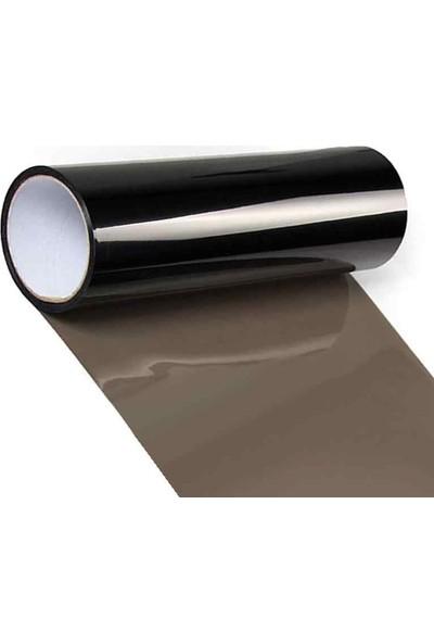 Newdizayn Açık Siyah Transparan Far Filmi 30 cm x 5 m