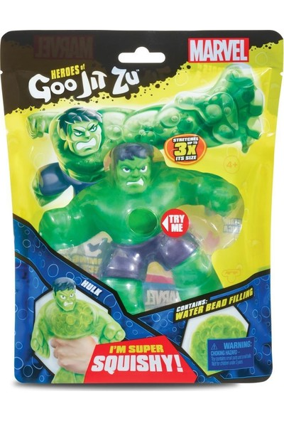 Goojitzu Marvel Tekli Figür-Hulk GJT04000