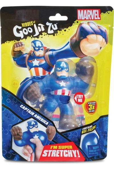 Goojitzu Marvel Tekli Figür-Captain America GJT04000