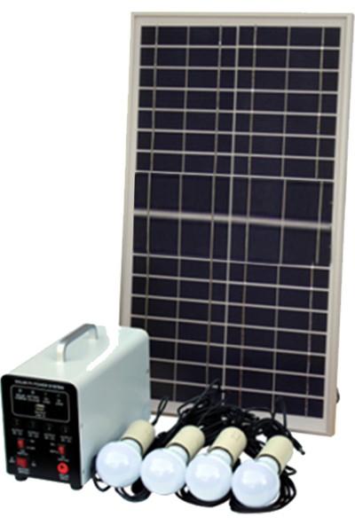 Glokal Enerji 30W Solar Güç Sistemi