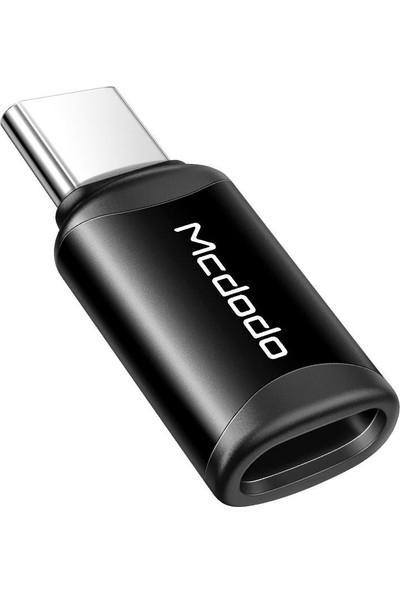 Mcdodo Type-C To Lightning Çevirici Adaptör Siyah OT-7700