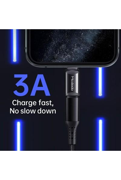 Mcdodo Lightning To Type-C Çevirici Adaptör Siyah OT-7680