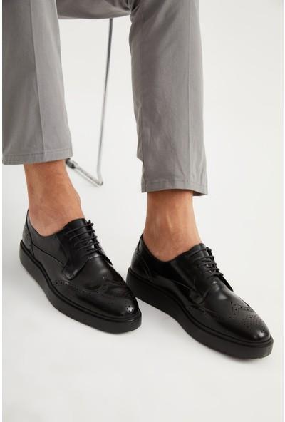 Giuseppe Mengoni Erkek Oxford/Ayakkabı Vs-22051 Siyah Gıuseppe Mengonı Siyah
