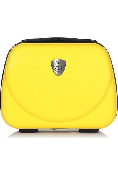 Uk Polo Club Pb1 Makyaj Çantası & El Valizi Sarı