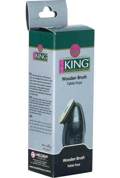 New King Tahta Ayakkabı Fırçası