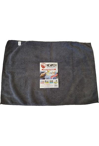 Newmix Mikrofiber Oto Kurulama Bezi 50 x 70 cm Büyük Boy