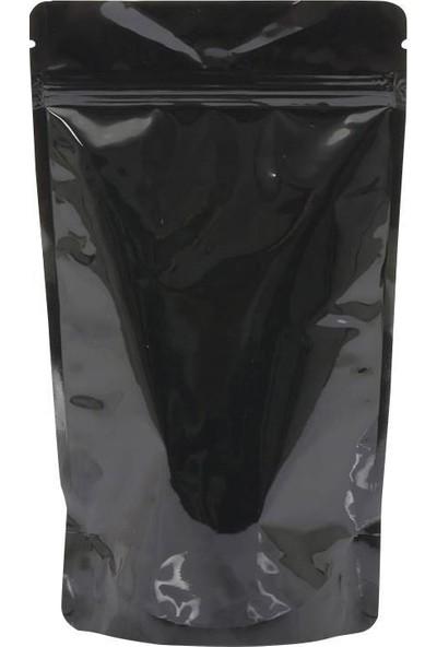 1001 Ambalaj Doypack Siyah Alüminyum Kilitli 8,5 x 14,5 (100 )