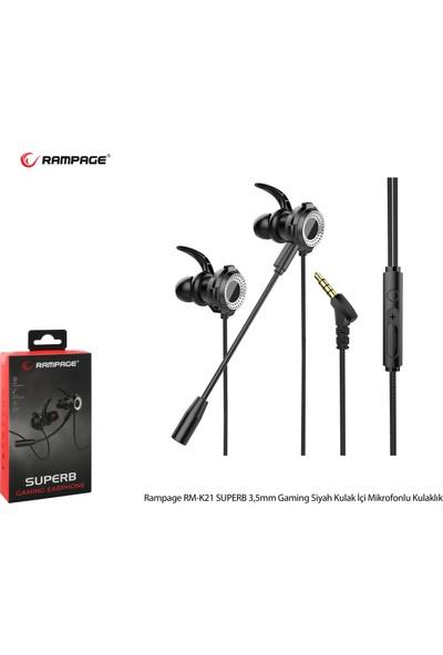 Rampage RM-K21 Superb Kulakiçi Kulaklık