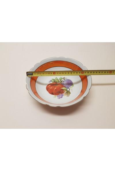 Begüldan Porselen Erikli Dometesli Kase Çap 23 cm H 7 cm BEG_3118