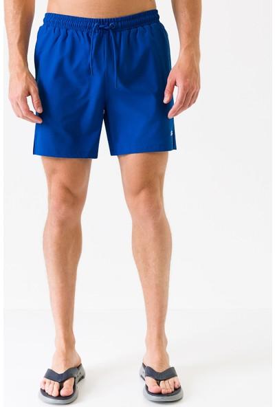 Skechers Swimwear M Base Swimshort S201091-403 Erkek Mavi Deniz Şortu