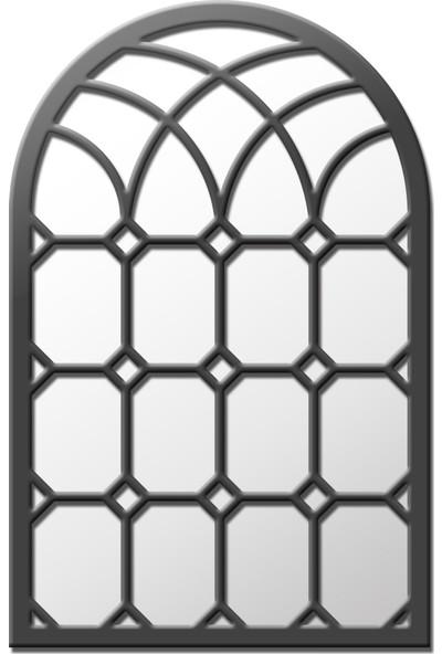 Liar Pencere Ayna - LPA-02 - (Antrasit Gri)