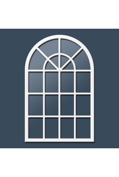Liar Pencere Ayna - LPA-05 - (Beyaz)