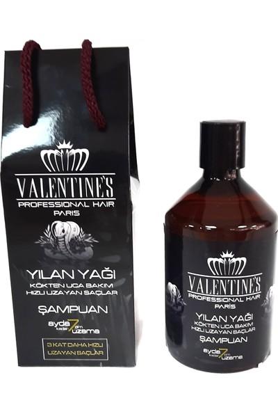 Valentines Professional Yılan Yağı Şampuan