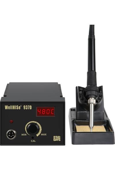Wellhise Sm 937D Isı Ayarlı Dijital Ekranlı Havya Istasyonu