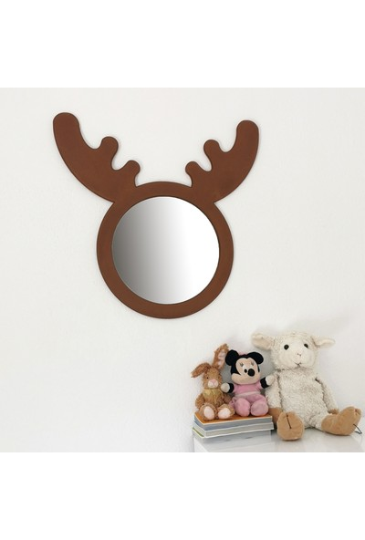 Neostill - Montessori Çocuk Ayna Geyik C101