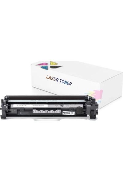 inkwell Laserjet Pro M102a CF217A Çipli Muadil Toner 1600 Sayfa Siyah