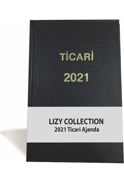 Lizy Ticari Ajanda, 2021 Yılı 17 x 25 cm