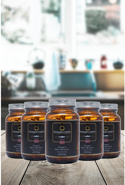 Norwegian Health Omega-3 60 Kapsül 1000 mg x 5 Adet