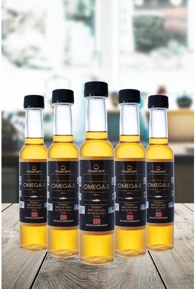 Norwegian Health Omega-3 200 ml x 5 Adet