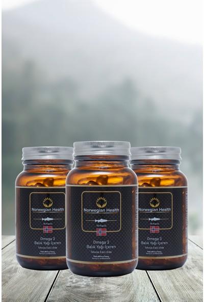 Norwegian Health Omega-3 60 Kapsül 1000 mg x 3 Adet