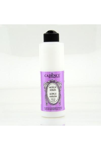 Cadence Su Bazlı Parlak Akrilik Vernik 250 ml