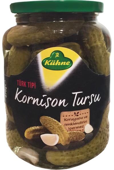 Kühne Türk Tipi Kornişon Turşu 720 ml