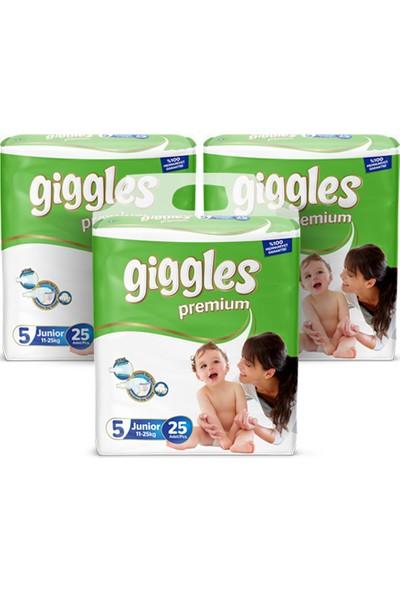 Giggles Premium Ikiz 5 Numara Junior X3 (75 )