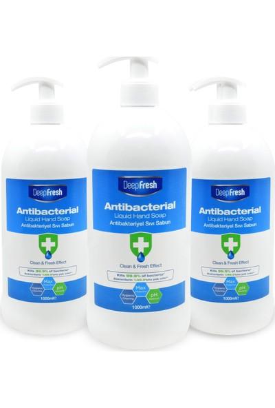 Deep Fresh Antibakteriyel Sıvı Sabun 3 x 1000 ml