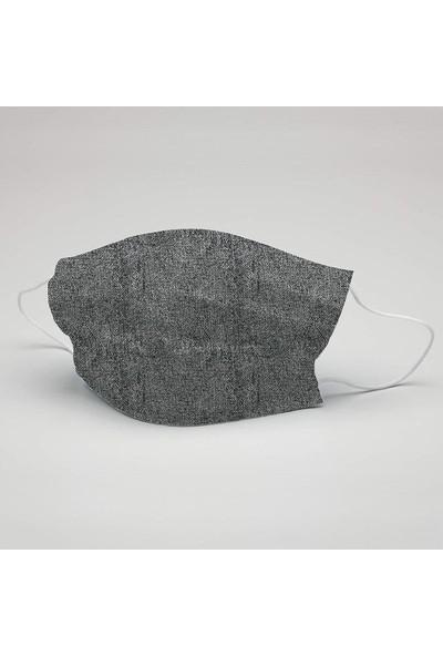 Doku Desen Yıkanabilir Maske (5 Adet)