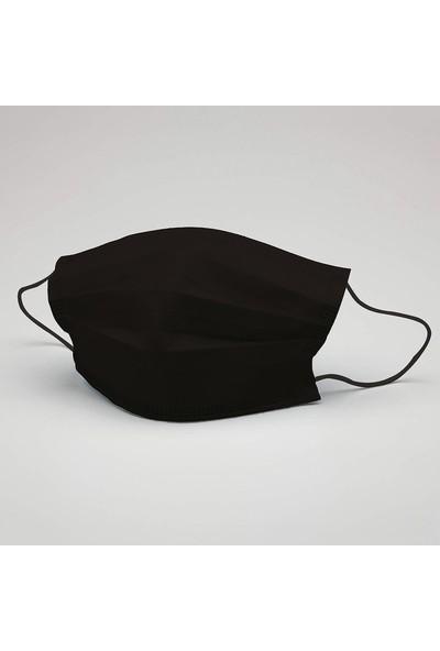 Siyah Renk Yıkanabilir Maske (5 Adet)