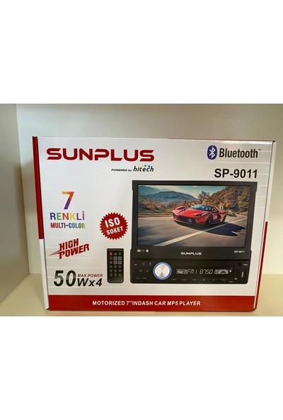 "Sun Plus Hitech SP-9011 4X50W 7"" Indash Oto Teyp"