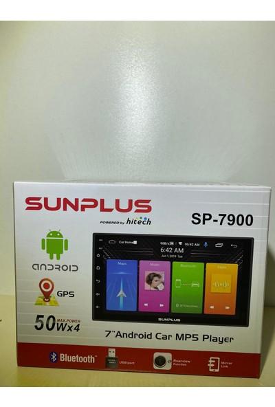 Sun Plus Hitech SP-7900 7'' Car Mp5 Player Androıd Double Oto Teyp