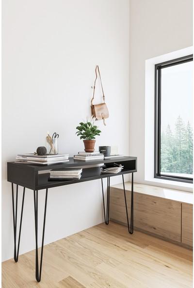 Wood House Aleyna Dresuar - SİYAH