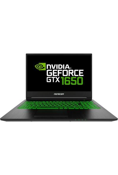 Monster Abra A5 V16.4.1 Intel Core i5 9300H 16GB 500GB SSD GTX1650 Freedos 15.6'' FHD Taşınabilir Bilgisayar