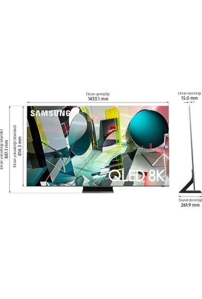 Samsung 65Q950T 65'' 165 Ekran Uydu Alıcılı 8K Ultra HD Smart QLED TV
