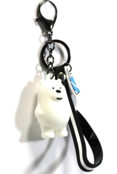 Modaroma We Bare Bears - Ice Bear Anahtarlık