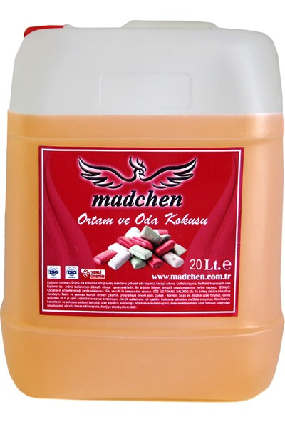 Madchen Sakız Oto Kokusu 20 lt