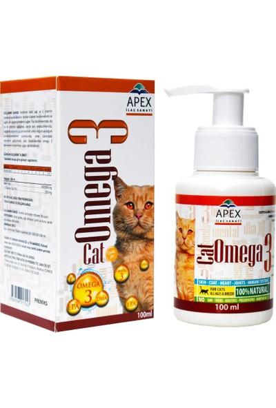 Apex Omega 3 Cat Kedi Sprey 100 ml