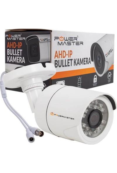 Powermaster PM-19423 2 Mp 2.8 mm 24 Ledli Ahd Plastik Kasa Bullet Kamera