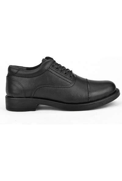 Ziya Erkek Deri Ayakkabı 103415 348006 Siyah