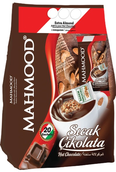 Mahmood Bademli Sıcak Çikolata 21 gr 20'li