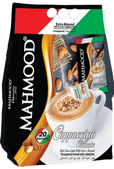 Mahmood Coffee Cappuccino Bademli 25 gr 20'li