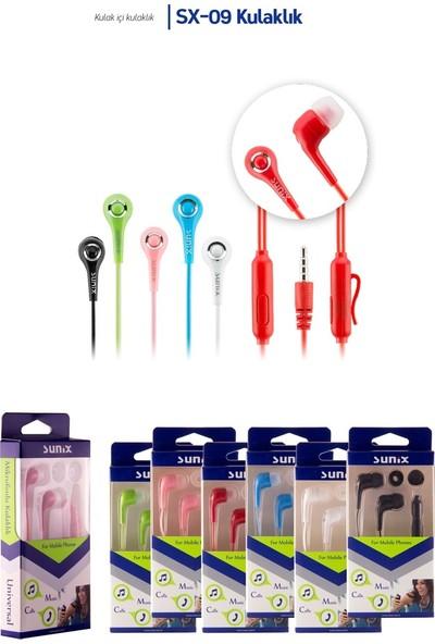 Sunix Sx-09 Mikrofonlu Kulak Içi Kulaklık