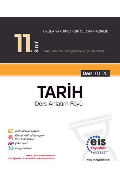 Eis Yayınları 11. Sınıf Tarih Ders Anlatım Föyü