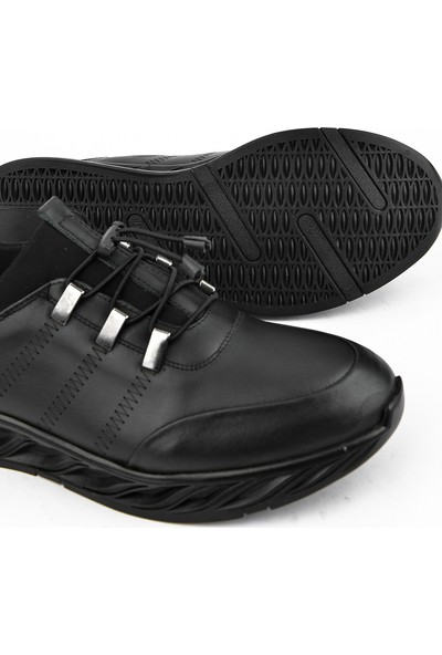 Ziya Erkek Deri Ayakkabı 103415 348014 Siyah