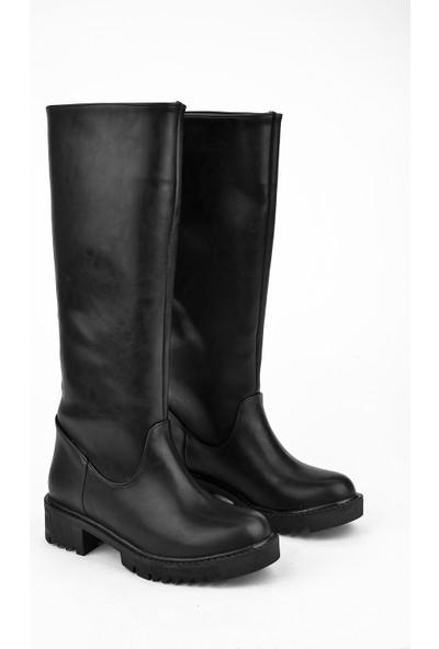 Ziya Kadın Çizme 103415 Z460111 Siyah