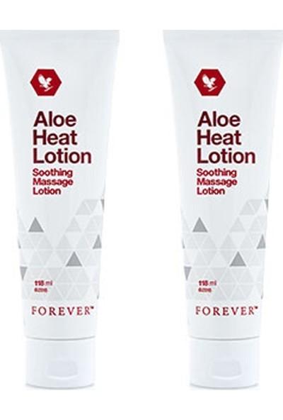 Forever Living Aloe Heat Lotion Isıtıcı Ağrı Masaj Kremi 2 Adet