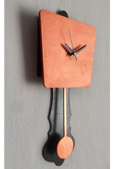 Wooden Style Dekoratif Ahşap Mutfak Saati