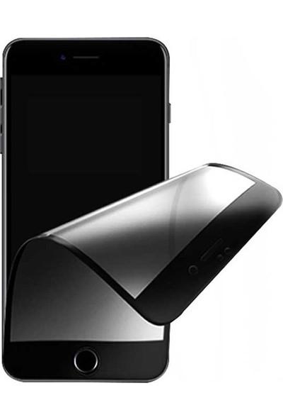 Logis Huawei Mate 10 Lite 6d Ekran Koruyucu Tam Kaplayan Fiber Nano Cam Beyaz